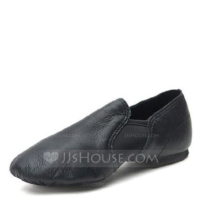 Women's Real Leather Modern Jazz Practice Dance Shoes (05319...