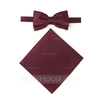 Classic Bow Tie Pocket Square satin (200209550)...