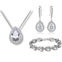 Shining Alloy Zircon Women's Jewelry Sets (137136497)