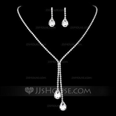 Ladies' Stylish Rhinestones With Pear Jewelry Sets (01120909...