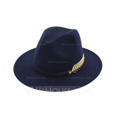 Unisex Fashion Felt Fedora Hat (196200488)...