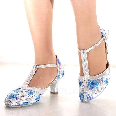 Women's Mesh Heels Latin Dance Shoes (053164358)...