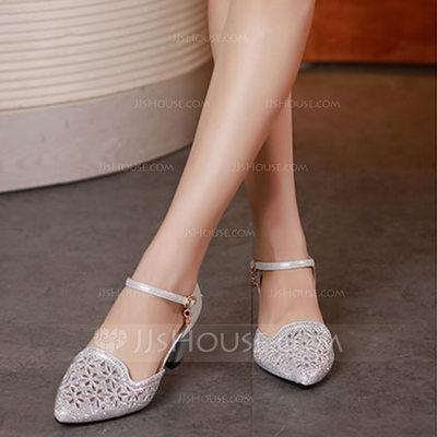Women's Microfiber Leather Heels Latin Dance Shoes (05317530...