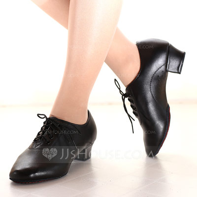 Women's Leatherette Heels Practice Dance Shoes (053164356)...
