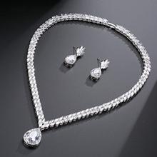 Classic Copper/Zircon Ladies' Jewelry Sets (011199624)