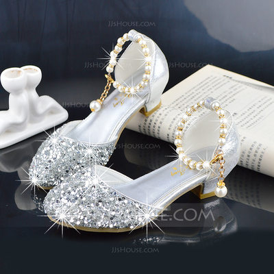 Girl's Round Toe Closed Toe Leatherette Flower Girl Shoes (2...