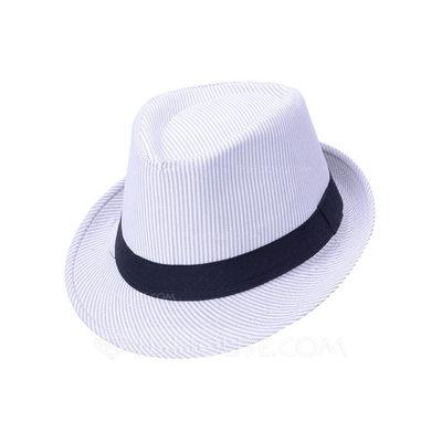 Men's Hottest Cotton Fedora Hats/Kentucky Derby Hats (196201...