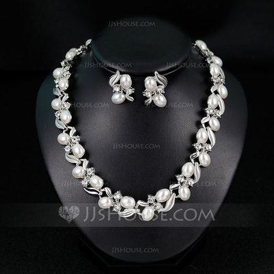 Elegant Alloy/Imitation Pearls With Imitation Pearls Ladies'...
