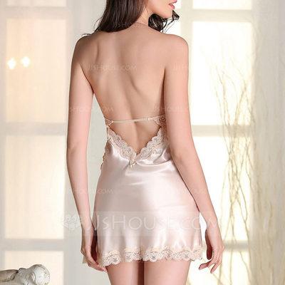 Satin Bridal/Feminine Sleepwear/Bridal Lingerie (041200675)...