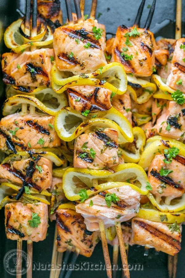 Grilled-Salmon-Skewers-with-Garlic-and-Dijon-10