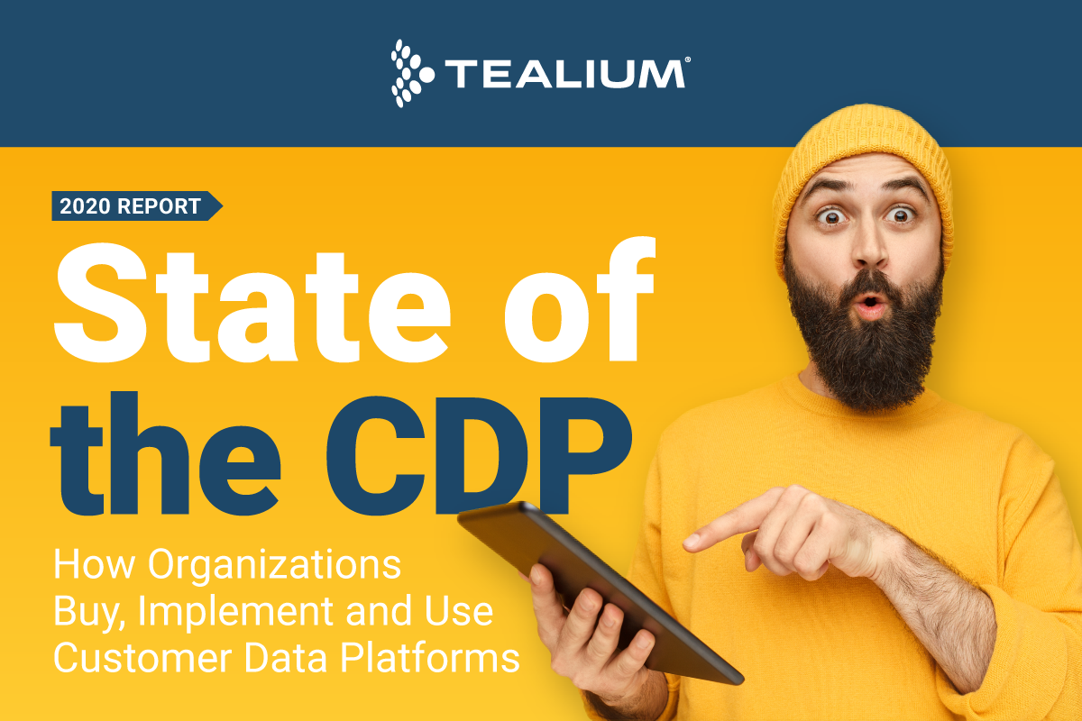 2020 Report - State of the CDP - How Organizations Buy, Implement and Use Customer Data Platforms