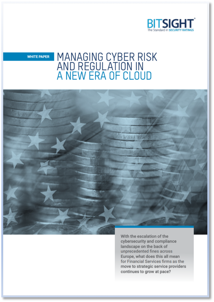 Managing Cyber Risk and Regulation in a New Era of Cloud
