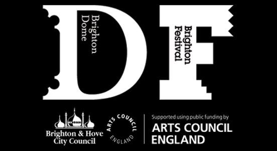 Brighton Dome & Brighton Festival logos