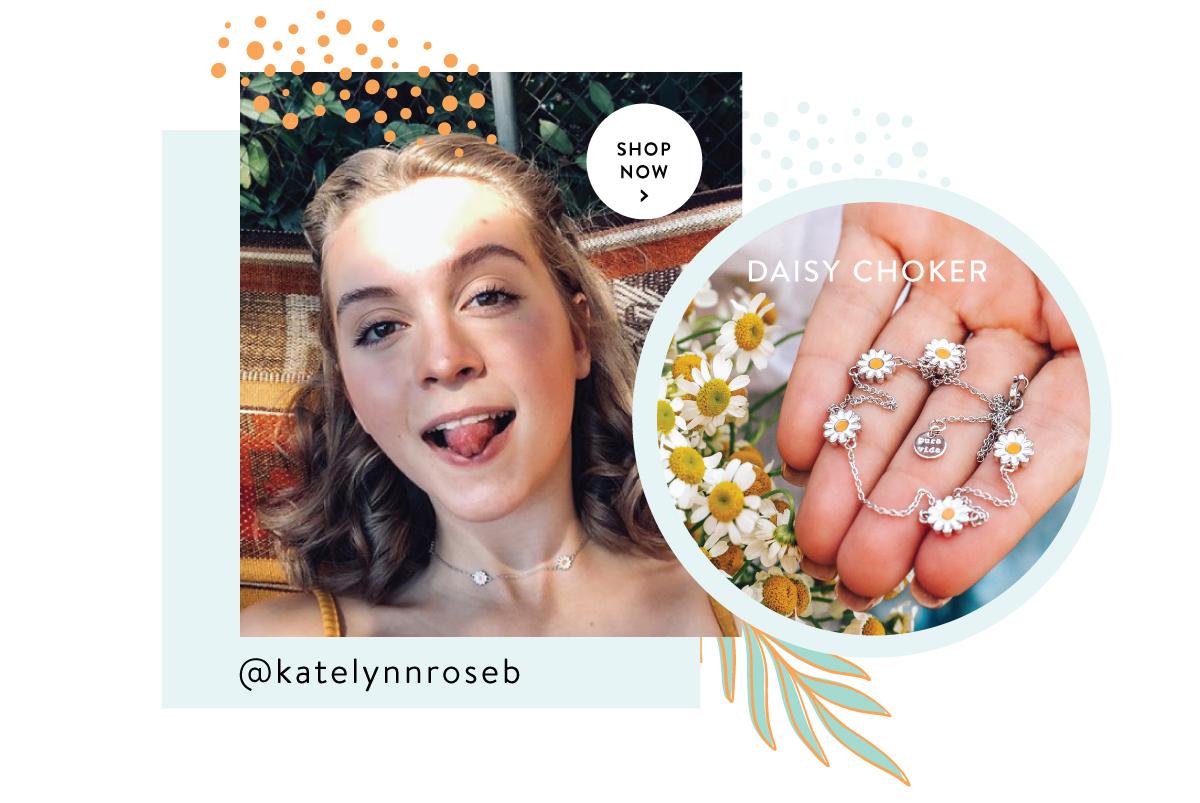 Daisy Choker | SHOP NOW >