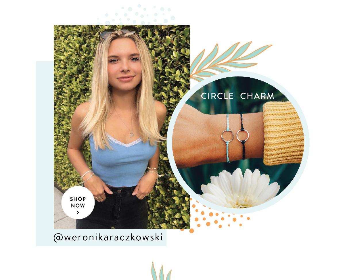Circle Charm | SHOP NOW >