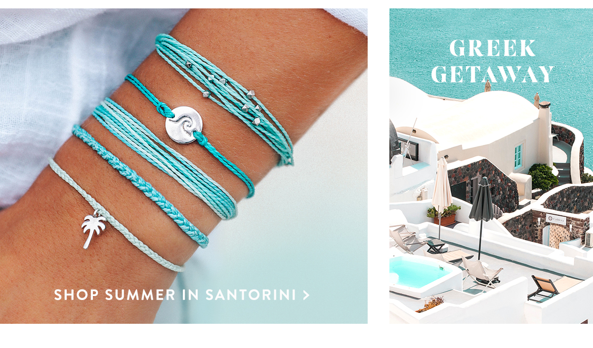 Greek Getaway | SHOP SUMMER IN SANTORINI >