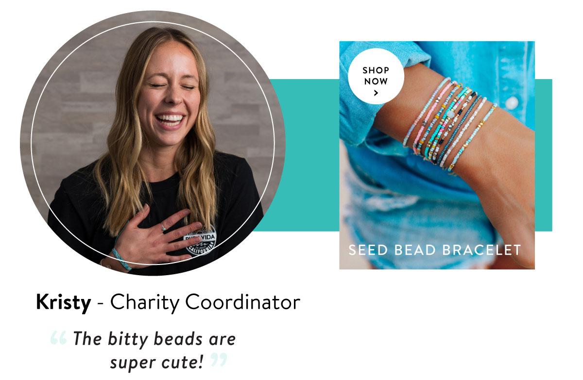 The Mini Braid & Bead Bracelet | SHOP NOW >