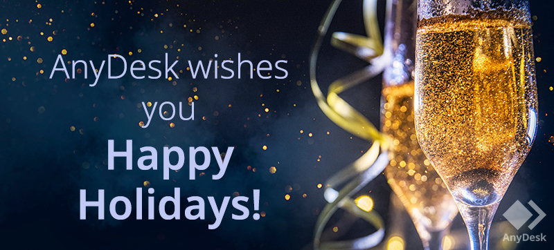 Happy holidays from AnyDesk