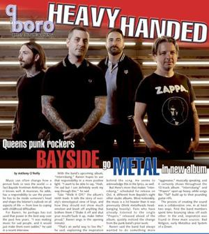 Bayside gets heavy and deep on 'Interrobang'