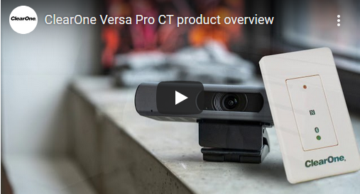 ClearOne Versa Pro CT Product Video