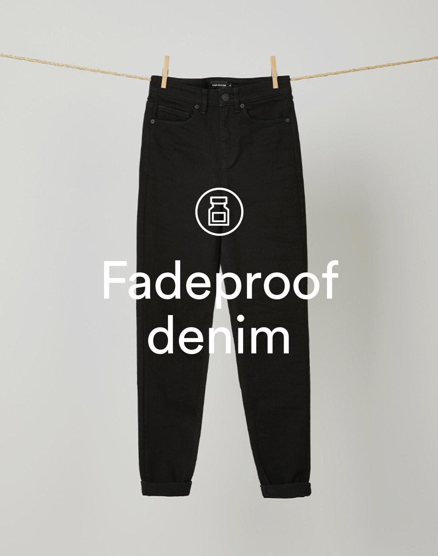 Fadeproof Denim