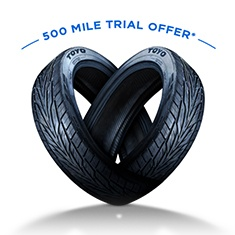 500 mile trial offer