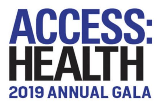 Access: Health 2019 Gala
