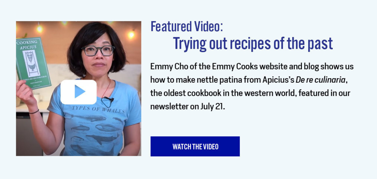 Featured Video: Trying Out Recipes of the Past