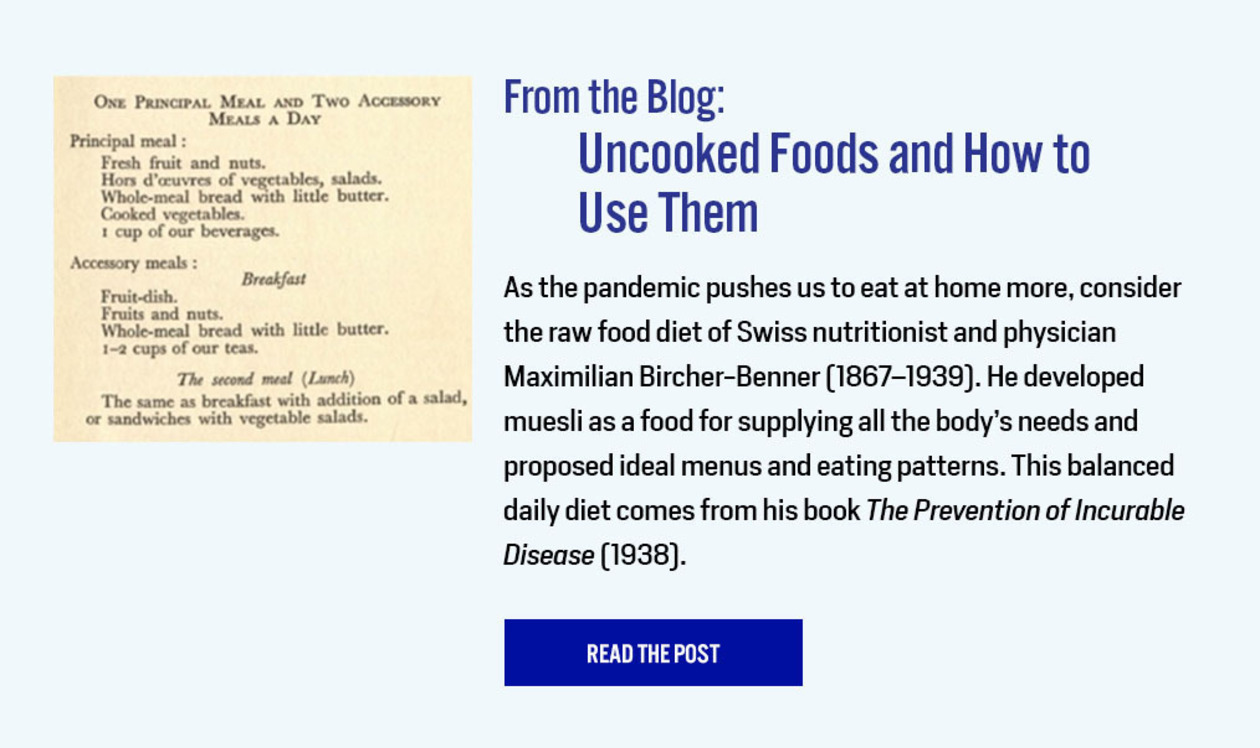 From the Blog: Uncooked Foods and How to Use Them