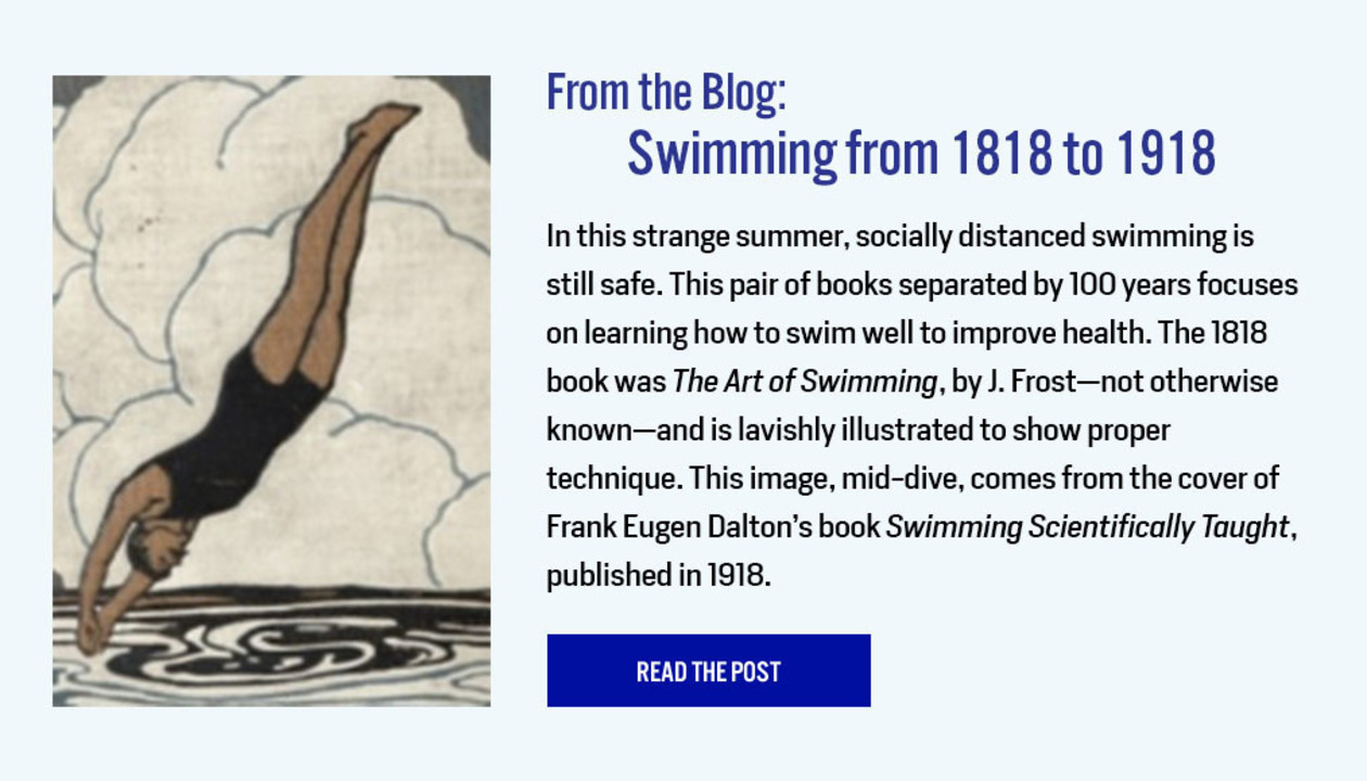 From the Blog: Swimming from 1818 to 1918