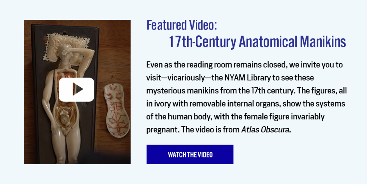 Featured Video: 17th-Centure Anatomical Manikins