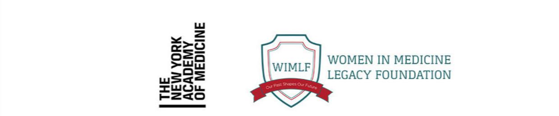 The New York Academy od Medicine (logo) - Women in Medicine Legacy Foundation (logo)