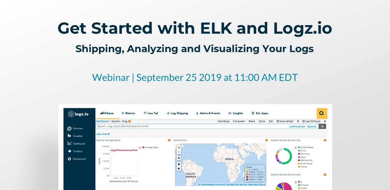 Get Started with ELK and Logz.io � Shipping, Analyzing and Visualizing Your Logs