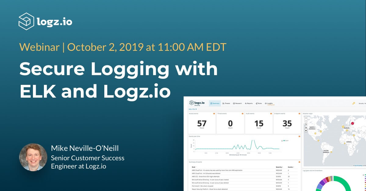 secure logging