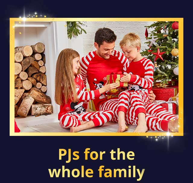 PJs for the whole family