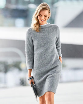 Sweater Shift Dress