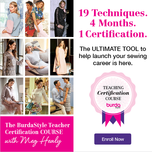 BurdaStyle Teaching Certification Course
