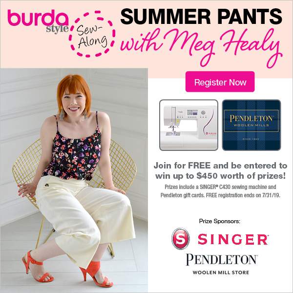 FREE Sew Along Summer Pants