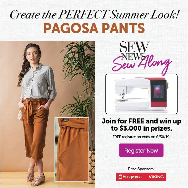 Sew Along: Pagosa Pants