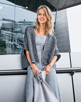 Relaxed Short Cardigan