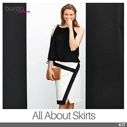 The BurdaStyle All About Skirts Kit