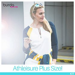 The BurdaStyle Athleisure Kit (Plus Size!)