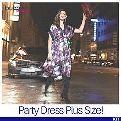 The BurdaStyle Party Dress Kit (Plus Size!)