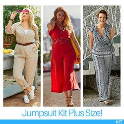 The BurdaStyle Jumpsuit Kit (Plus Size!)