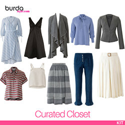 The BurdaStyle Curated Closet Kit