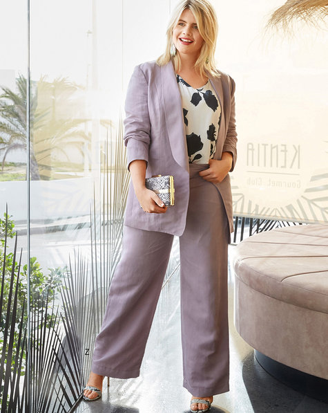 Relaxed Pants (Plus Size)