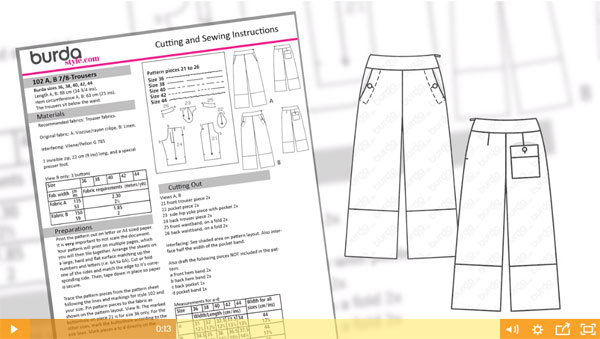 Summer pants image