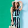 Retro Restyle: Striped Dress