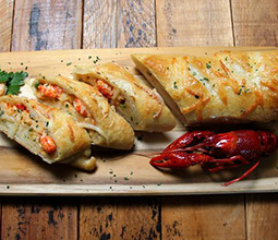 Crawfish Bread Recipe