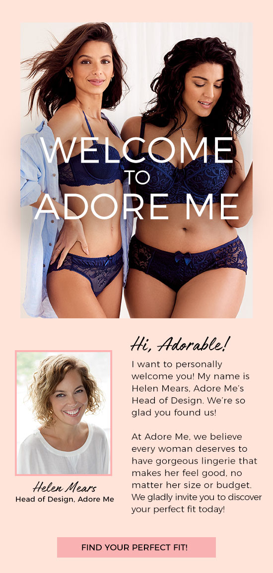 Welcome to Adore Me